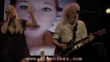 Kerry Ellis & Brian May (c) Slash2baz